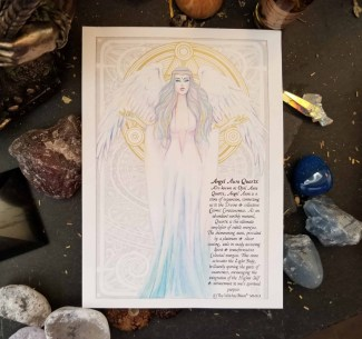 Angel Aura Quartz Goddess Book of Shadows Page