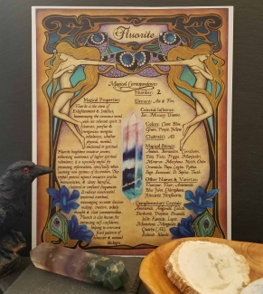 Fluorite Book of Shadows Page