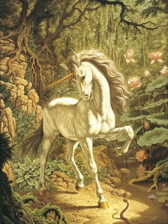 Unicorn by Johfra Bosschart