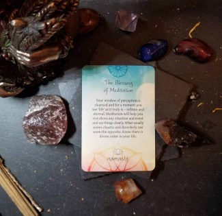 The Blessing of Meditation Card